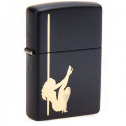 Žiebtuvėlis ZIPPO Z24892 Stripper and Pole Black Matte