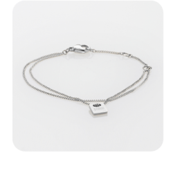 Apyrankė Storm Mini Tag Bracelet Silver