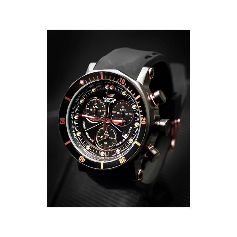 Watches vostok europe lunokhod 2 grand chrono 6s30 6203211 for Vostok europe watches