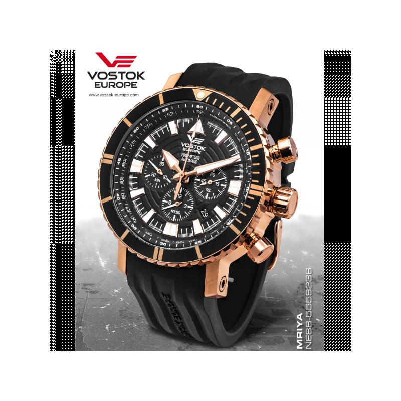 watches vostok europe mriya automatic chronograph ne88
