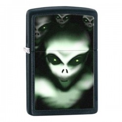 Žiebtuvėlis  ZIPPO 28863 Aliens Black Matte