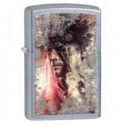 Žiebtuvėlis  ZIPPO 28868 28868 Native American Headdress Street Chrome