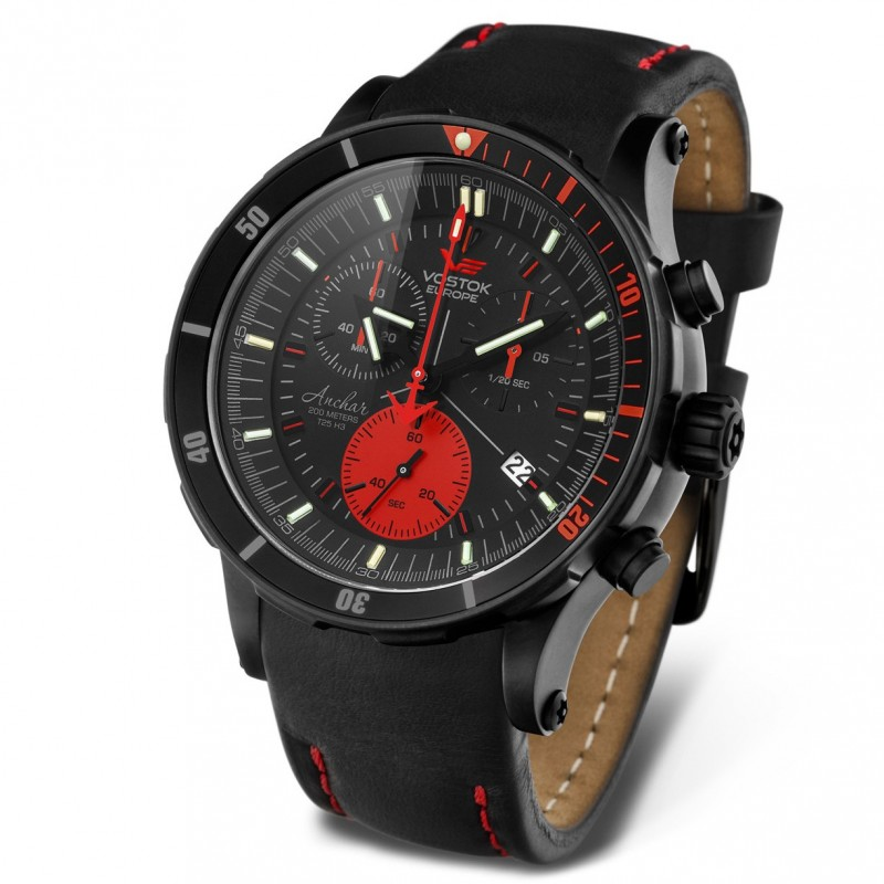Watches vostok europe anchar chrono 6s30 5104244 for Vostok europe watches