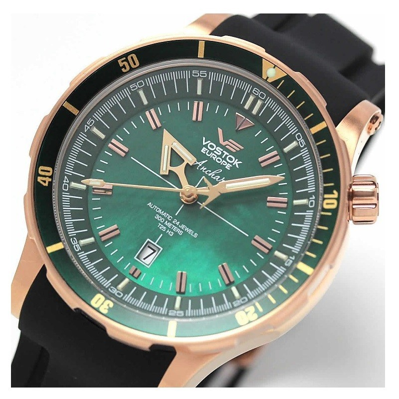 Watches vostok europe anchar nh35a 5109248 for Vostok europe watches