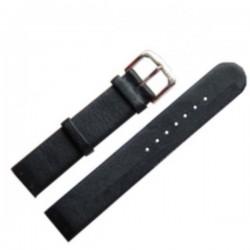 Laikrodžio dirželis BISSET BSAD16 juodas