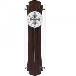 ADLER 20196  riešutas Sieninis kvarcinis laikrodis