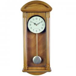 ADLER 20042O ĄŽUOLAS Sieninis kvarcinis laikrodis