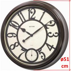 Rhythm CMG746NR06 sieninis kvarcinis laikrodis