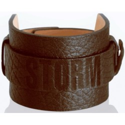Apyrankė Storm Stamp Cuff Brown