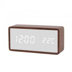Electric LED Alarm Clock XONIX GHY-010JM/BR/WH