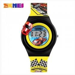 SKMEI 1376 YL Yellow Vaikiškas laikrodis
