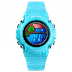 SKMEI 1477 LT BU Light Blue Vaikiškas laikrodis