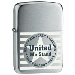 Žiebtuvėlis ZIPPO 24297 United We Stand Chrome