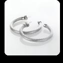 Auskarai Storm Cartel Earrings Silver