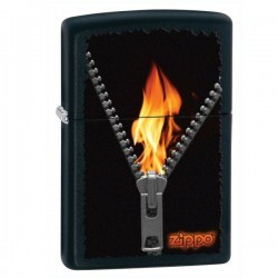 Žiebtuvėlis Zippo 28309 New Windproof Lighter - Black Matte