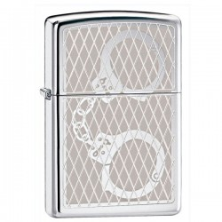Žiebtuvėlis Zippo 28287 Handcuffs Bling High Polished Chrome