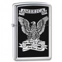 Žiebtuvėlis ZIPPO 28290 Classic Style American Eagle