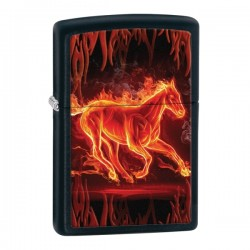 Žiebtuvėlis ZIPPO 28304 Horse Flaming
