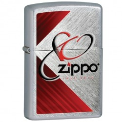Žiebtuvėlis ZIPPO 28192 80TH Anniversary Lighter, Brushed Chrome