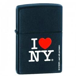 Žiebtuvėlis ZIPPO 24798 Classic I Love NY Black Matte