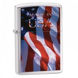 Žiebtuvėlis ZIPPO 24797 Made in USA Flag