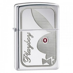 Žiebtuvėlis ZIPPO 24789 Classic Playboy Swarovski Crystal Eye High Polish Chrome