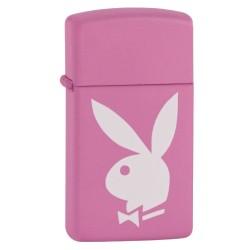 Žiebtuvėlis ZIPPO 20831 Playboy Pink Slim Pink Matte
