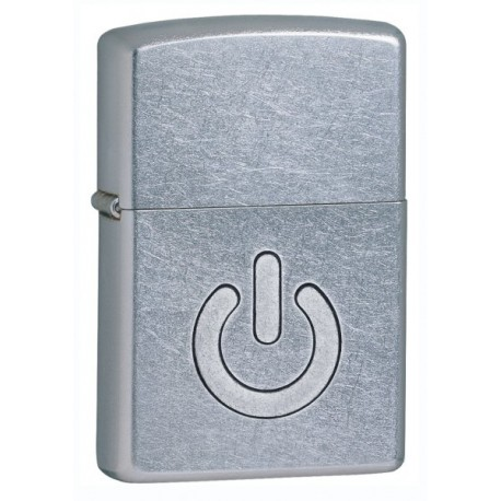 Žiebtuvėlis ZIPPO 28329 Embossed Power Symbol