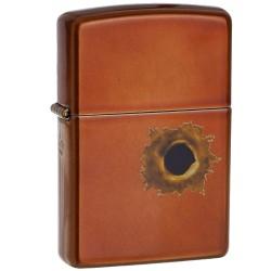 Žiebtuvėlis ZIPPO 24717 Bullet Hole Pocket