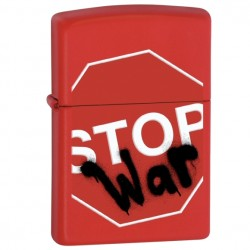 Žiebtuvėlis ZIPPO 28140 Stop War Red Matte