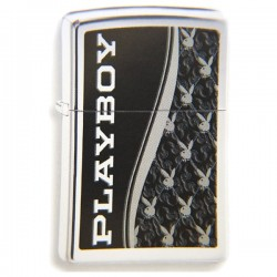 Žiebtuvėlis ZIPPO 28429 Playboy Logo High Polish Chrome