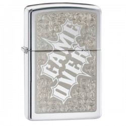 Žiebtuvėlis ZIPPO 28447 High Polish Chrome Game Over