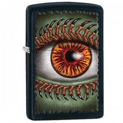 Žiebtuvėlis ZIPPO 28668 Monster Eye, Black Matte