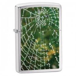 Žiebtuvėlis ZIPPO 28285 Spider Web Rain Drops