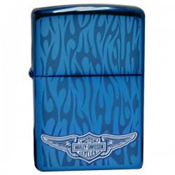 Žiebtuvėlis ZIPPO 28687  Harley Davidson Ghost Sapphire