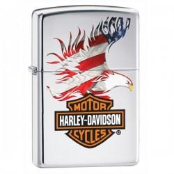 Žiebtuvėlis ZIPPO 28082 Harley Davidson American Flag