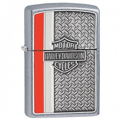 Žiebtuvėlis ZIPPO 28732 Harley Davidson Diamond Plate Chrome