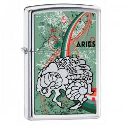 Žiebtuvėlis  ZIPPO 24931 Zodiac Aries High Polish Chrome