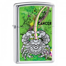 Žiebtuvėlis  ZIPPO 24934 Zodiac Cancer High Polish Chrome