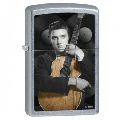 Žiebtuvėlis  ZIPPO 28431 Elvis Guitar Street Chrome