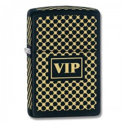 Lighter ZIPPO 28531 Gold VIP Black Matt