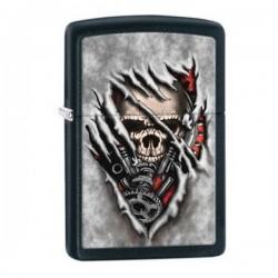 Зажигалка ZIPPO 28882 Skull Gears