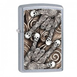 Lighter ZIPPO 28869 Skull Scroll Hand