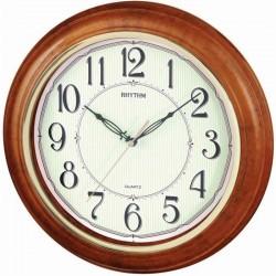 RHYTHM CMG425BR06 настенные кварцевые часы
