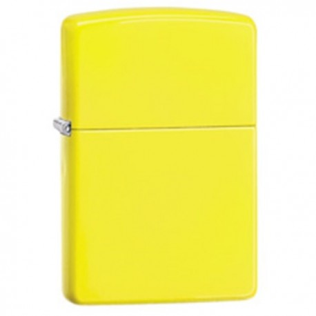 Žiebtuvėlis  ZIPPO 28887, Neon Yellow Finish Lighter, Full Size