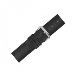 Laikrodžio dirželis BISSET BSAD18 juodas