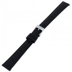 Laikrodžio dirželis BISSET BS25B85 juodas