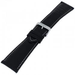 Laikrodžio dirželis BISSET BS25C02 juodas