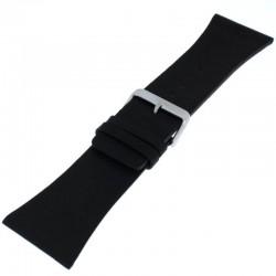 Laikrodžio dirželis BISSET BS25B90 juodas