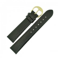 Laikrodžio dirželis BISSET BSAD41 juodas